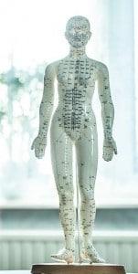 דיקור סיני ומקומות בגוף לטיפול בכאב